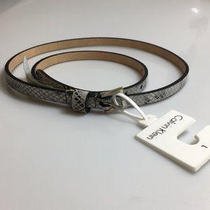 CALVIN KLEIN Size L Woman's belt